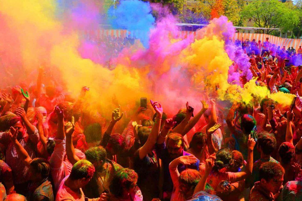 holi-en-india ¿Cuándo es el mejor momento para visitar la India?