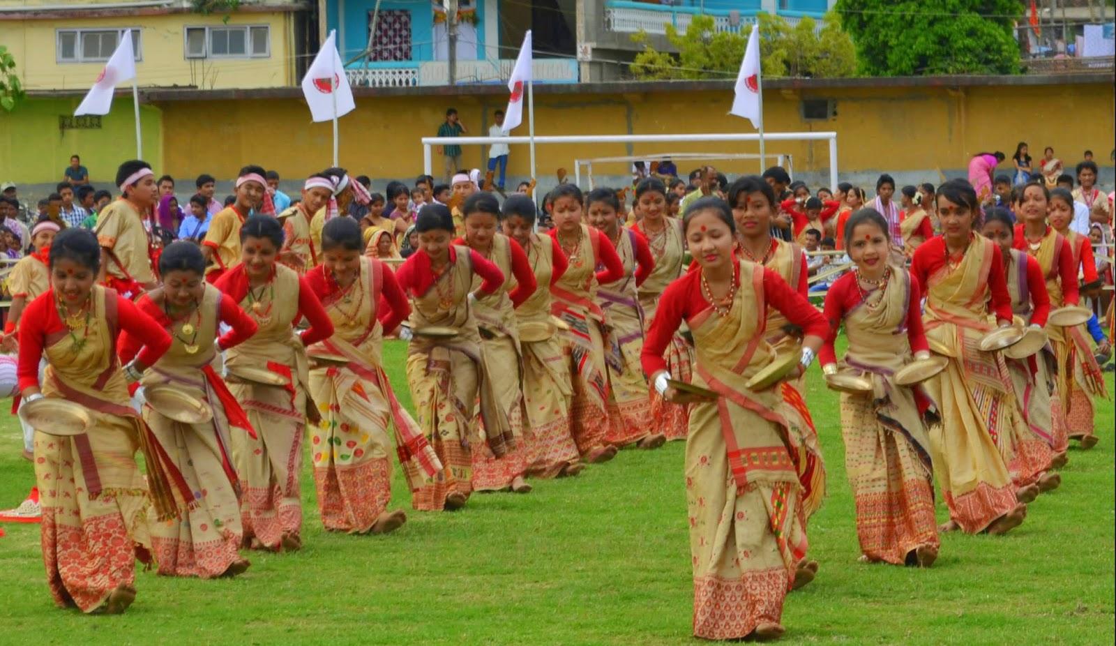 Bihu-Festival Festivales más Famosos de la India