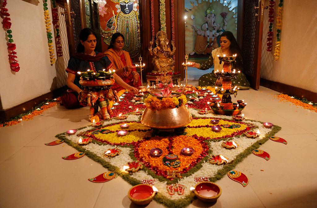 Deepawali Festivales más Famosos de la India