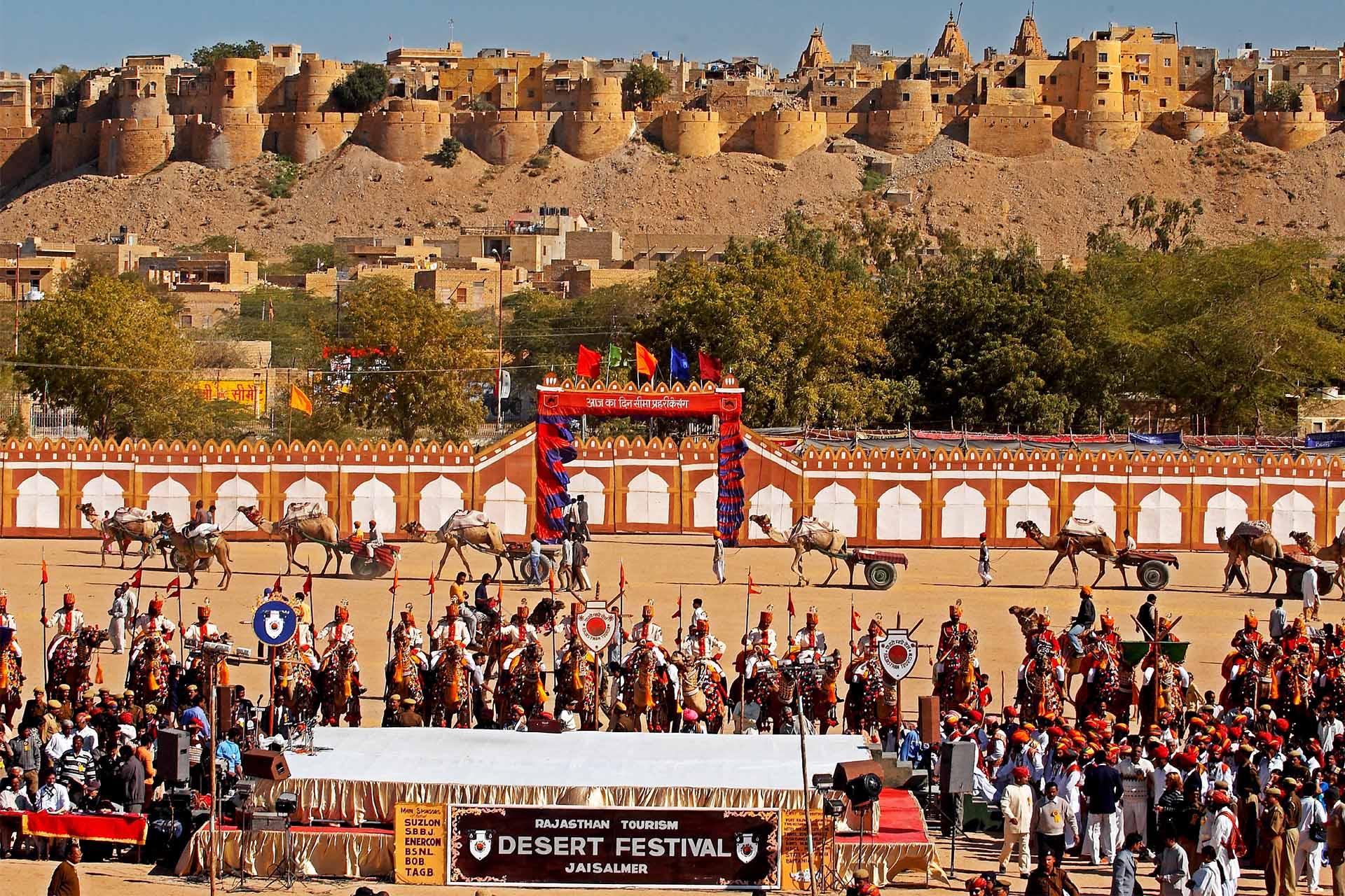 Desert-Festival-of-Jaisalmer Festivales más Famosos de la India