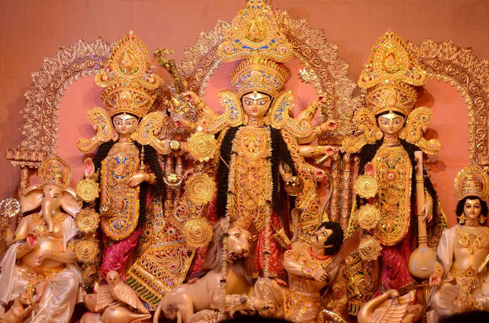 Durga-Puja Festivales más Famosos de la India