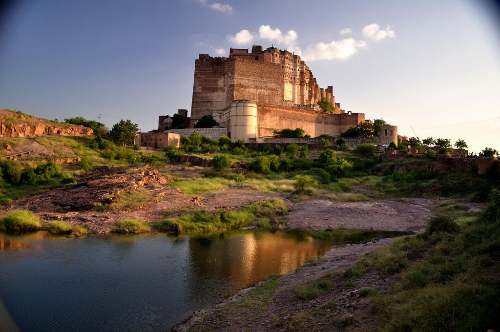 El-Fuerte-Mehrangarh-Jodhpur 30 increíbles atractivos turísticos de la India