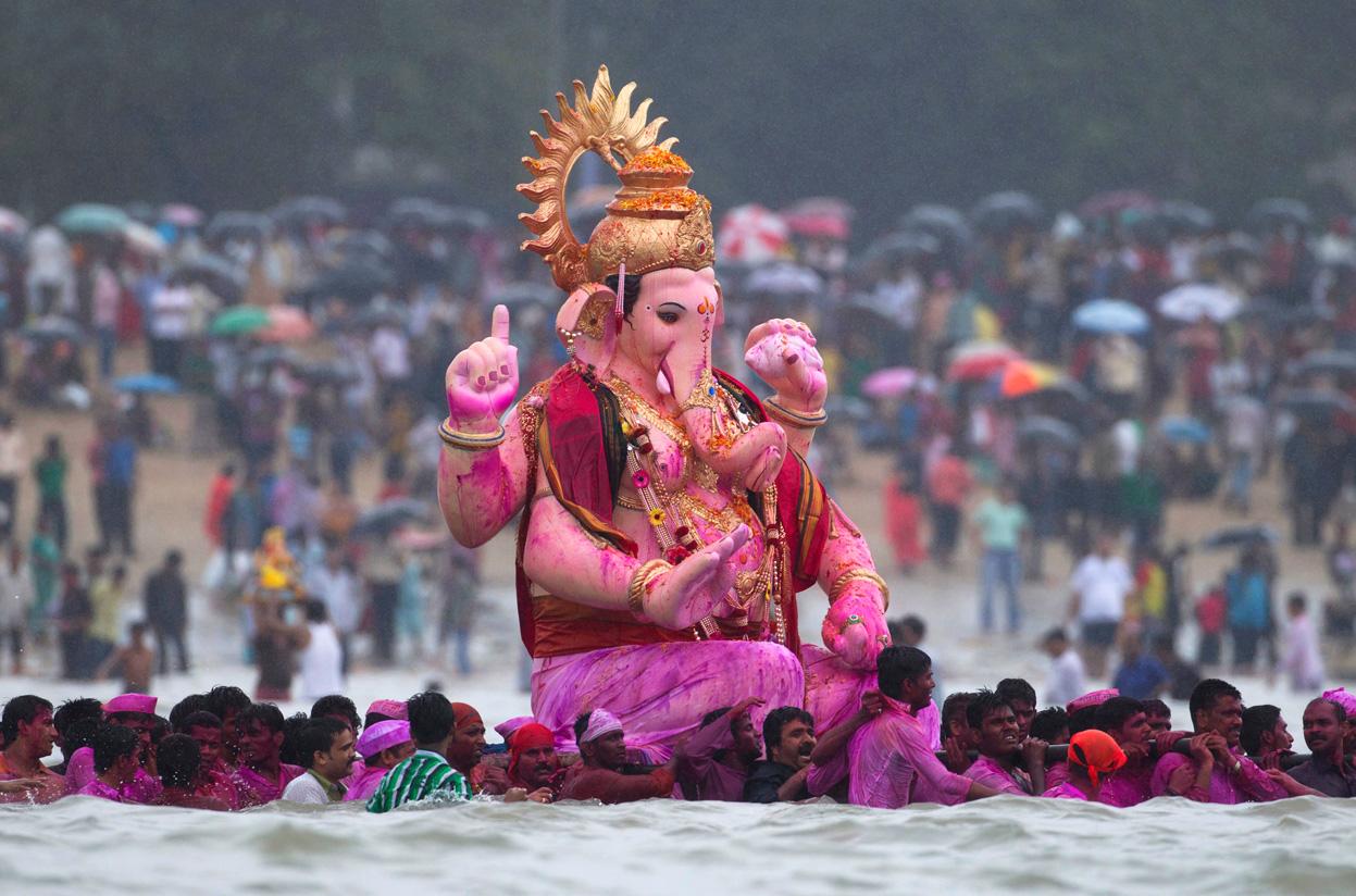 Ganesh-Chaturthi Festivales más Famosos de la India