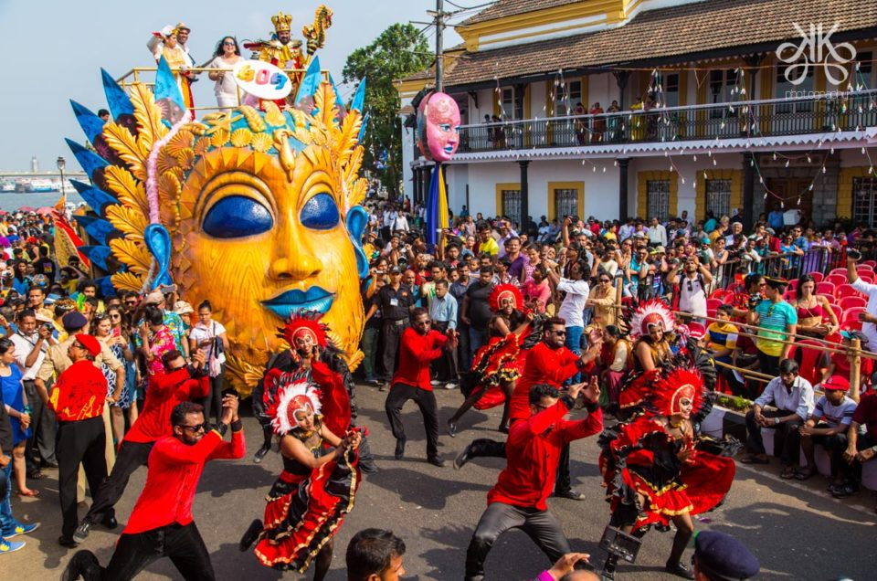 Goa-Carnival Festivales más Famosos de la India