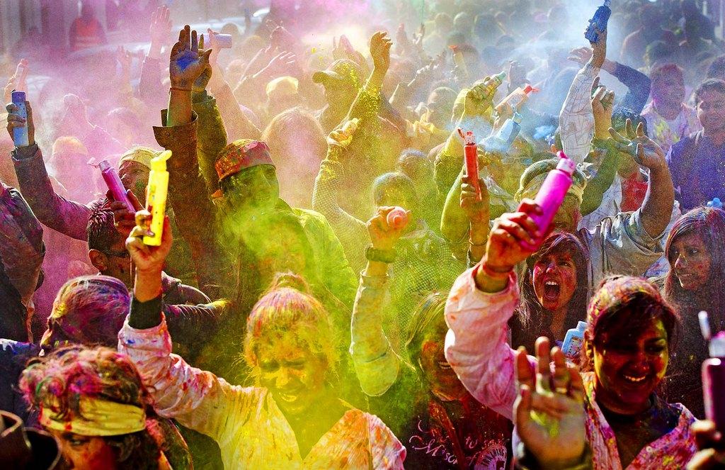 HOLI Festivales más Famosos de la India