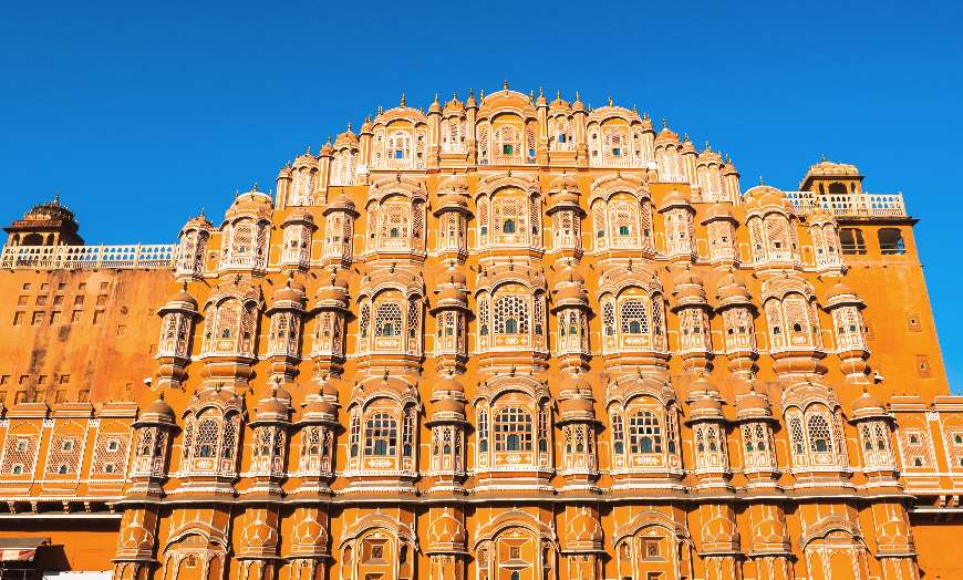 Hawa_Mahal_Palace_Jaipur_Rajasthan_India India: Las Mejores 10 Atracciones para Turistas Mexicanos