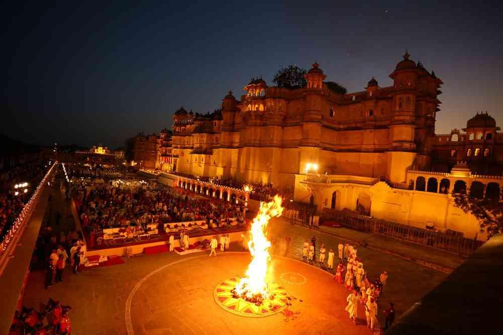Holi-in-Udaipur Holi 2019 : ¿Qué es la fiesta de Holi en India?  ¿Por qué se celebra?