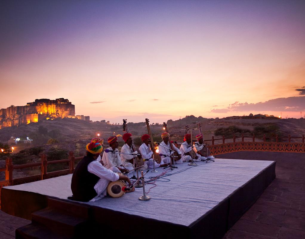 International-Folklore-Festival-Rajasthani Festivales más Famosos de la India