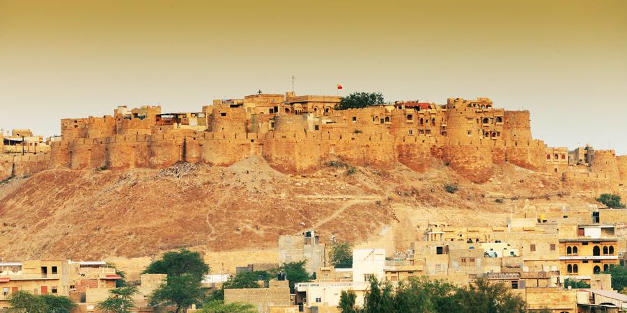 Jaisalmer-Fort 30 increíbles atractivos turísticos de la India