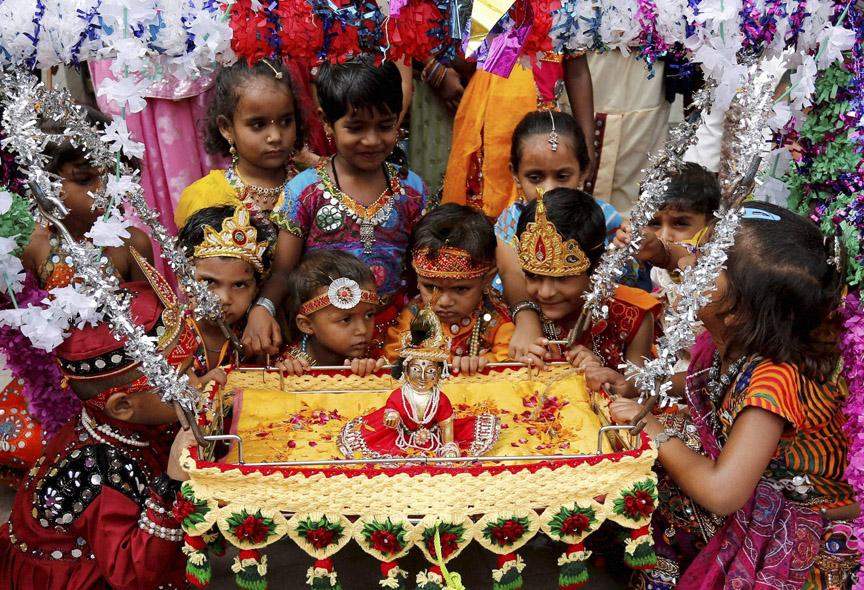 Jamnashtami Festivales más Famosos de la India