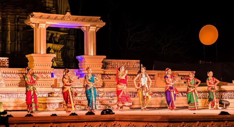 Khajuraho-dance-festival Festivales más Famosos de la India