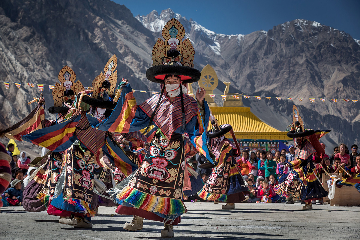 New-Year-Festival-in-Ladakh Festivales más Famosos de la India