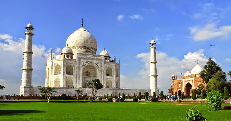 Taj-Mahal 30 increíbles atractivos turísticos de la India