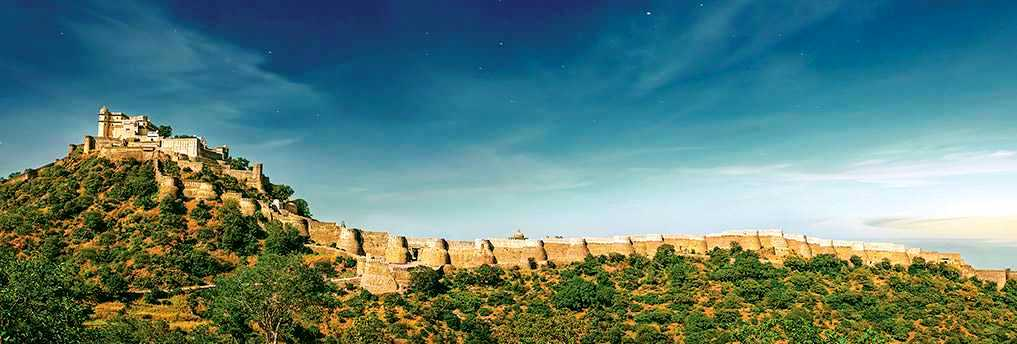Fuerte-Kumbhalgarh Los 10 lugares de Patrimonio de la Humanidad en la India