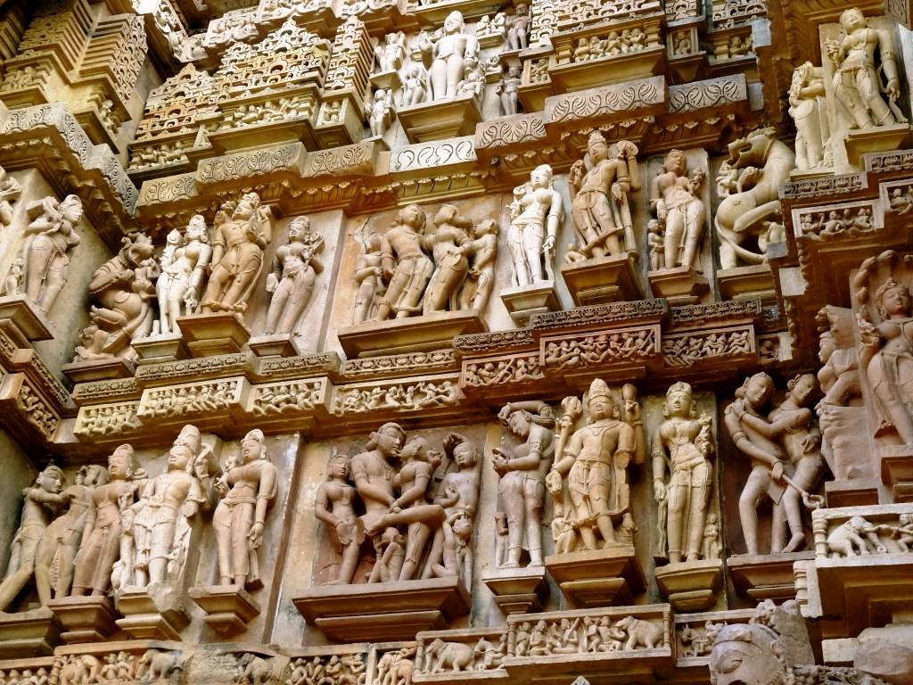khajuraho-temple Que hacer en la India en 10 días