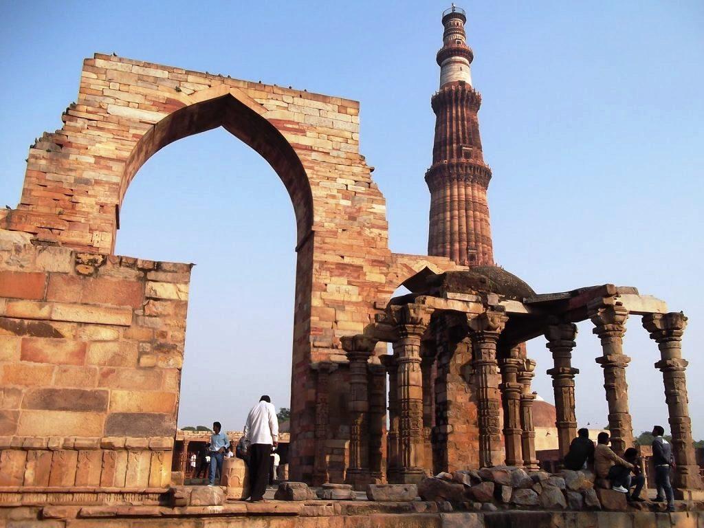 qutab-minar Que hacer en la India en 10 días
