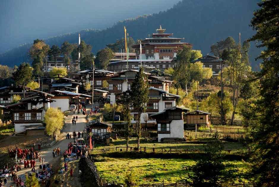 villages-in-Bhutan 10 cosas únicas que hacer en Bután