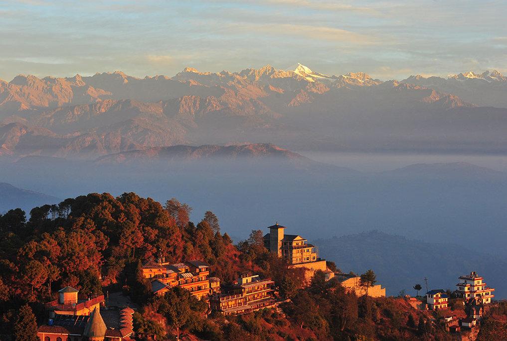 Nagarkot-mountain-everest Qué ver en Nepal de 5 a 10 días