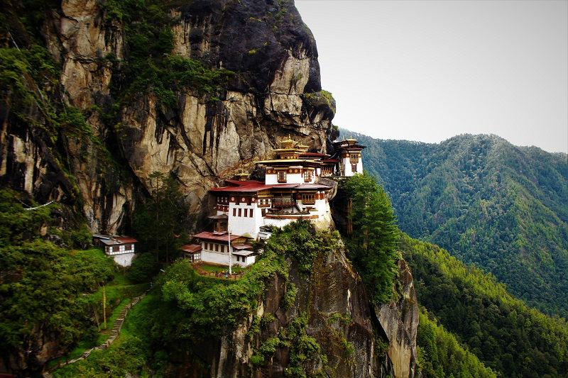 Tigers-Nest-Bhutan Tour al Nido del Tigre en Bután