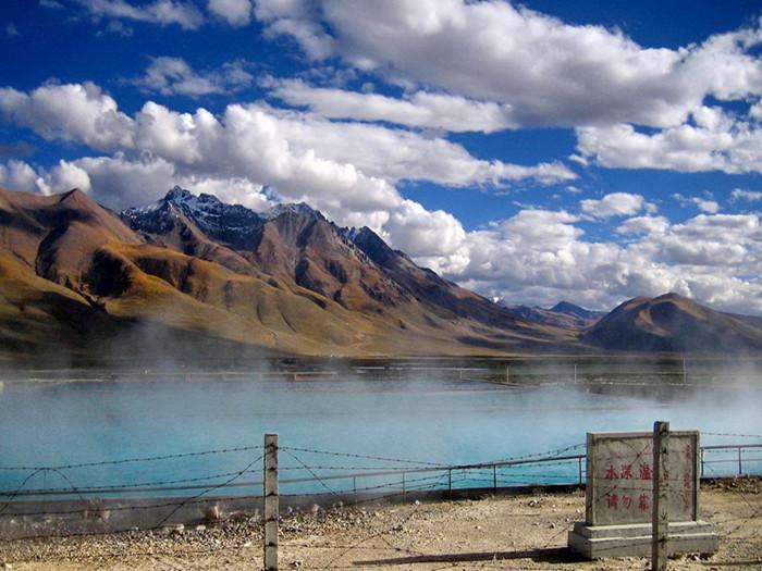 Yangpachen-Hot-Spring 10 cosas únicas que hacer en el Tíbet