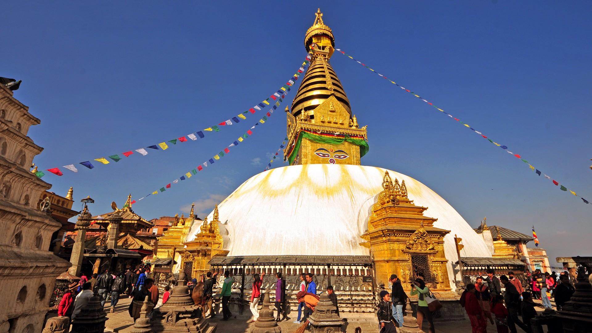 swayambhu-nepal Qué ver en Nepal de 5 a 10 días