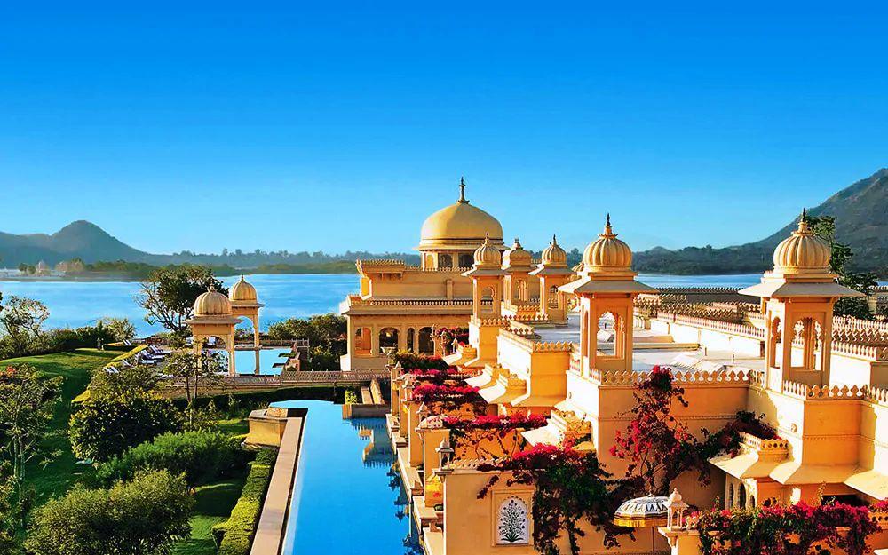 Oberoi-Udaivilas Los 10 Mejores Hoteles de Lujo en Rajasthan