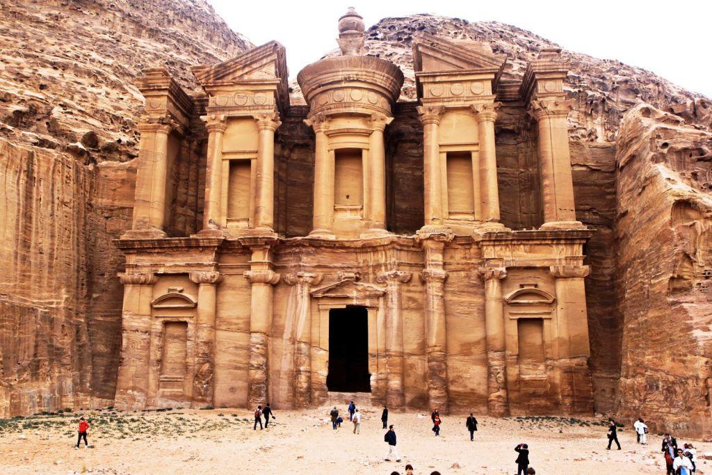 Petra-Jordania Las siete maravillas del mundo