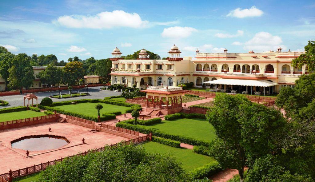 Taj-Jai-Mahal Los 10 Mejores Hoteles de Lujo en Rajasthan