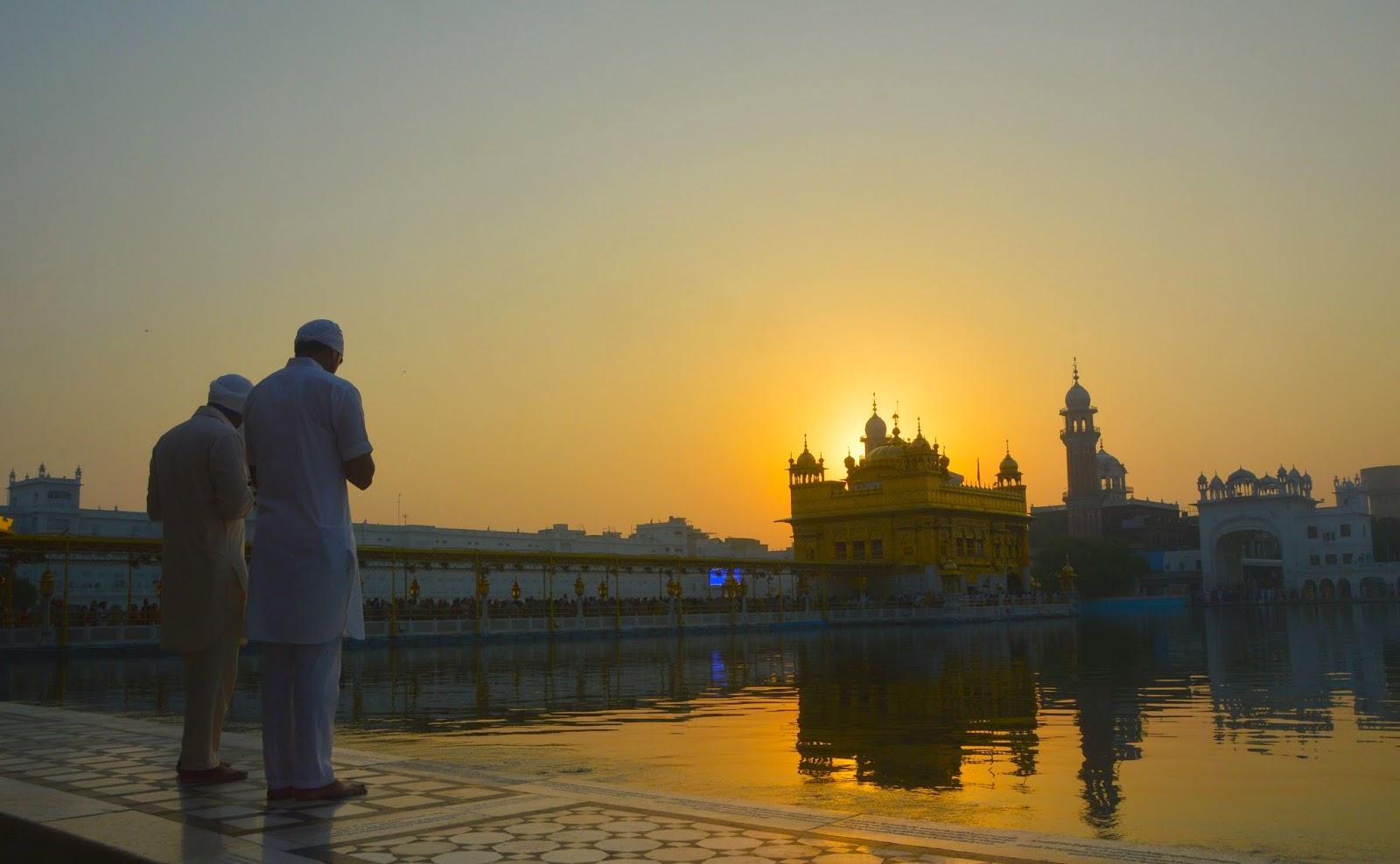 amritsar-golden-temple-morning6 Guía de viaje al Templo Dorado en Amritsar