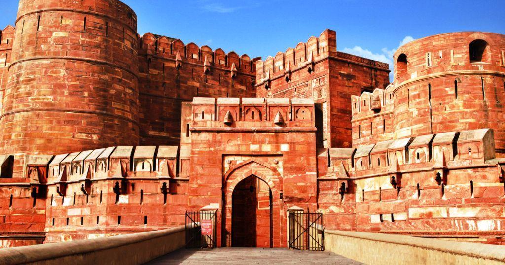 Fuerte-Rojo-de-Agra Los 10 monumentos de la India que debes conocer si te gusta la arquitectura
