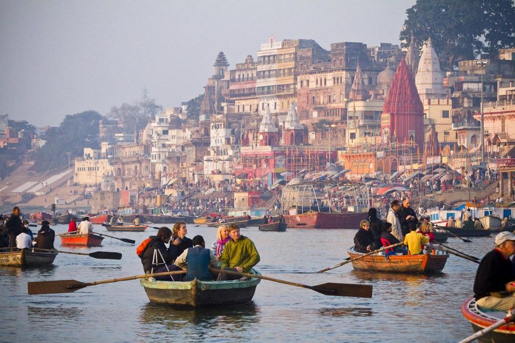 Boat-Ride-on-the-Varanasi 11 Cosas que hacer en Benarés
