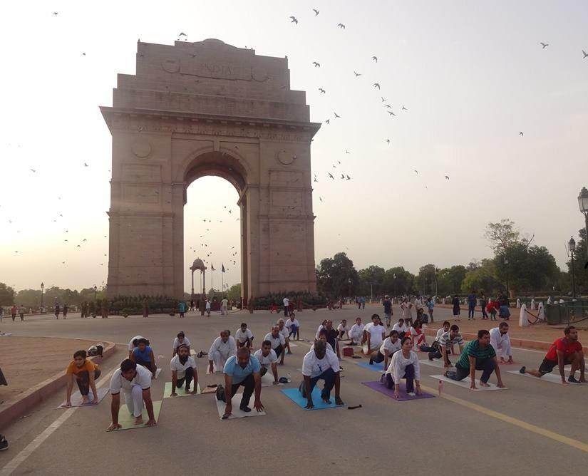 yoga Un día en Nueva Delhi