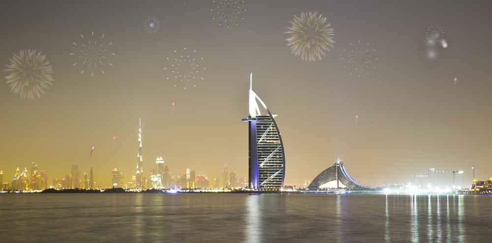 Burj-Al-Arab-1 La mejor manera de celebrar el año nuevo Dubai 2020