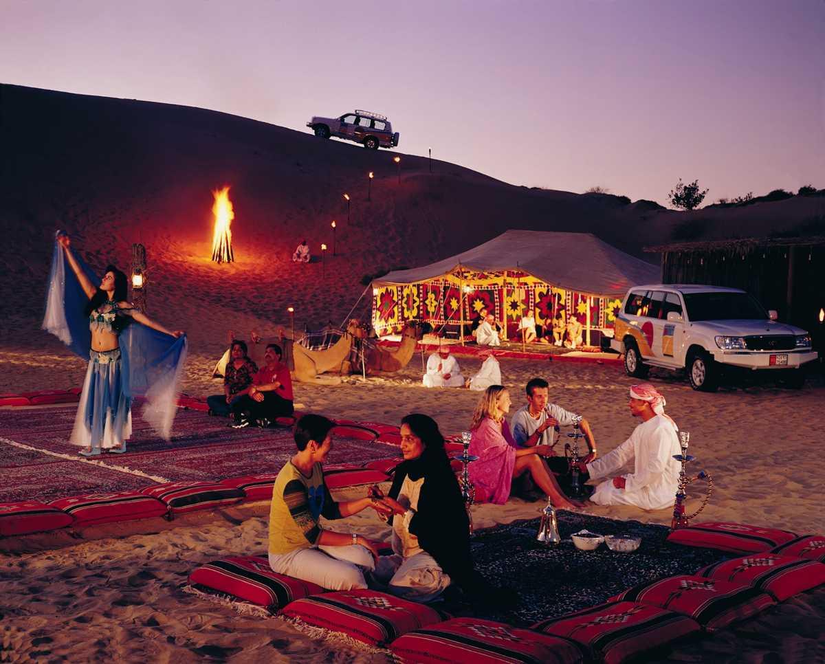 Dubai-Desert-Safari La mejor manera de celebrar el año nuevo Dubai 2020