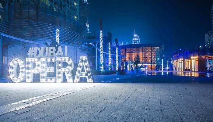 Dubai-Opera La mejor manera de celebrar el año nuevo Dubai 2020