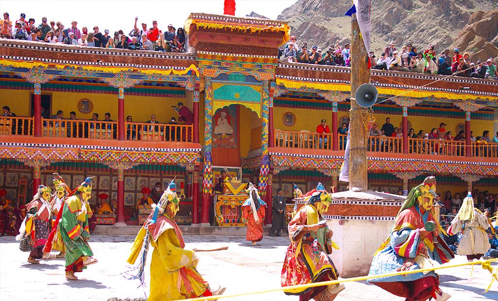 Festival-Hemis Lista de famosos festivales Budistas en la India