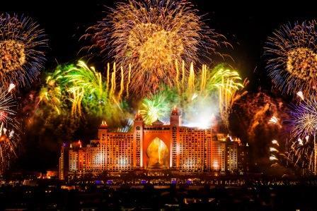 Fuegos-artificiales- La mejor manera de celebrar el año nuevo Dubai 2020