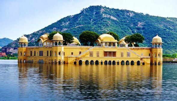 Jal-Mahal 10 Lugares Más famosos para Visitar en Rajastán