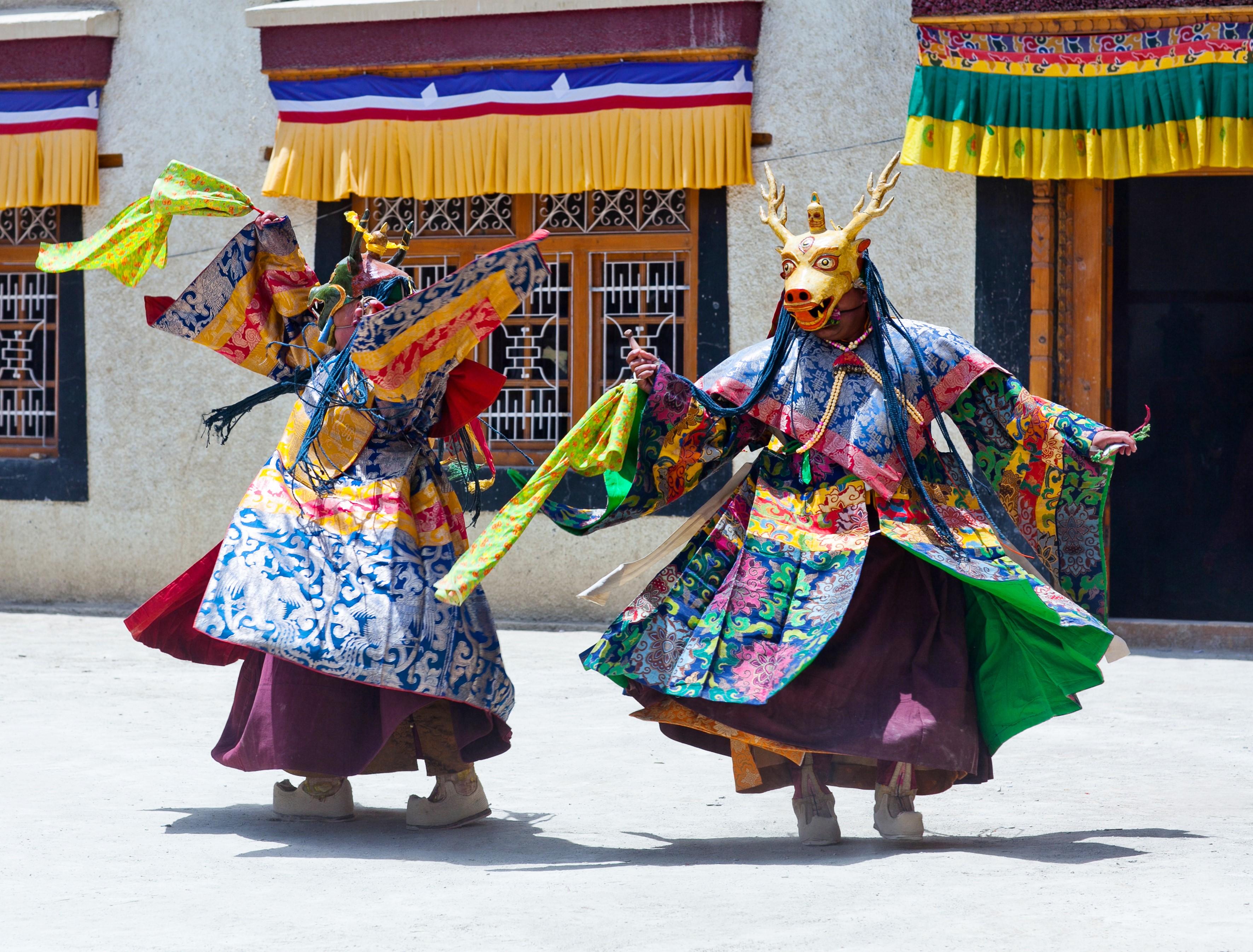 Losar-Festival-in-Tibet Festival Losar en Tíbet - Año Nuevo tibetano
