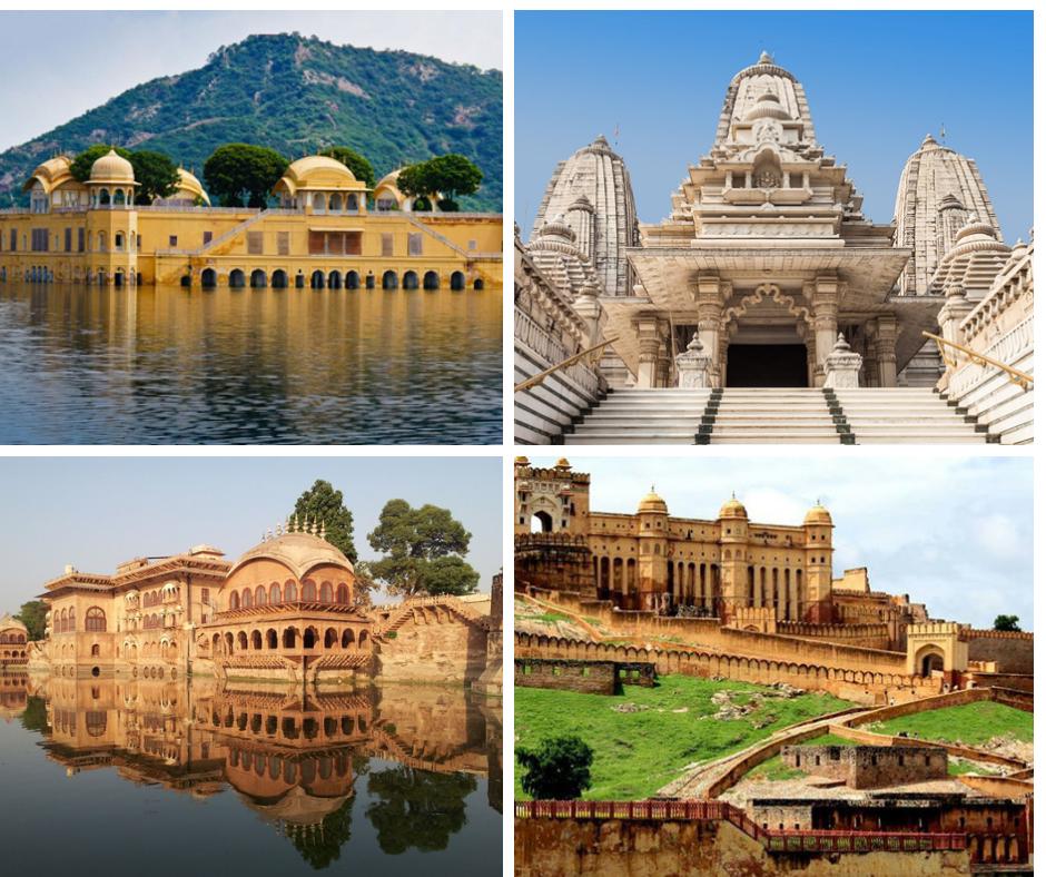 Places-to-Visit-in-Rajasthan 10 Lugares Más famosos para Visitar en Rajastán