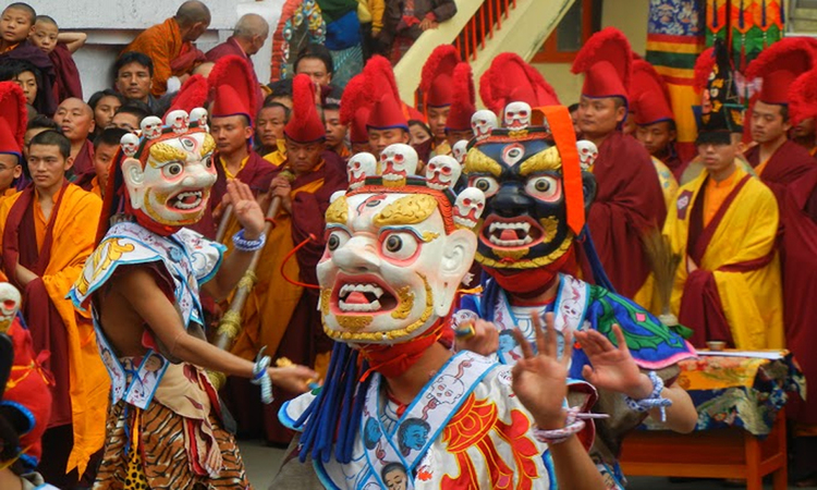 Rumtek-Chaam Lista de famosos festivales Budistas en la India