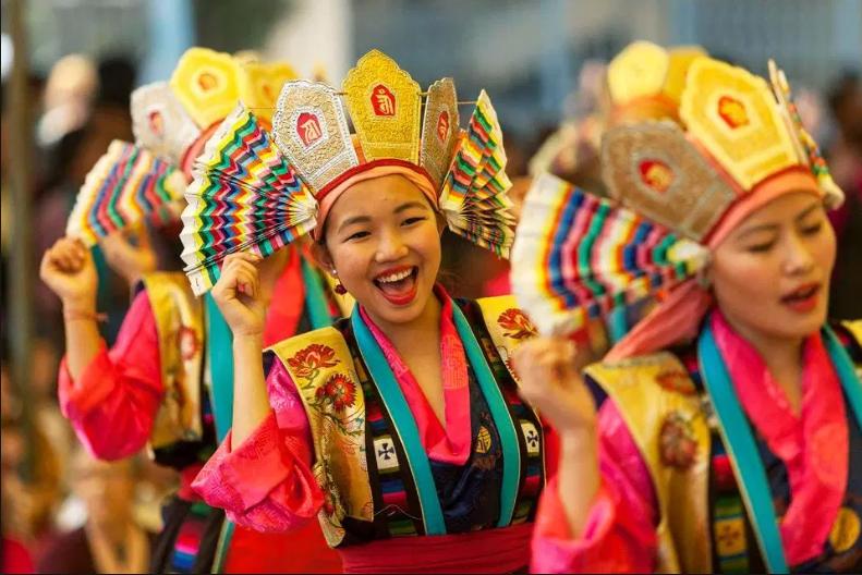Tibet-1 Festival Losar en Tíbet - Año Nuevo tibetano