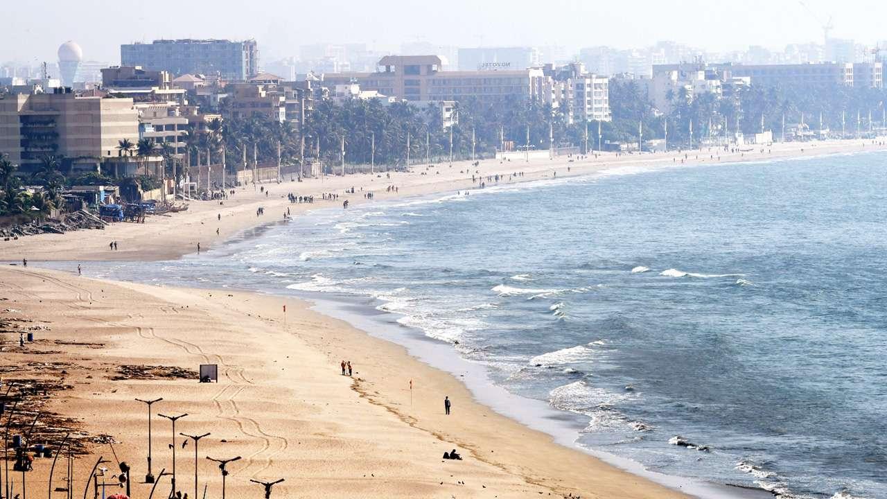 Juhu-Beach Guía de viaje para visitar Bombay por primera vez