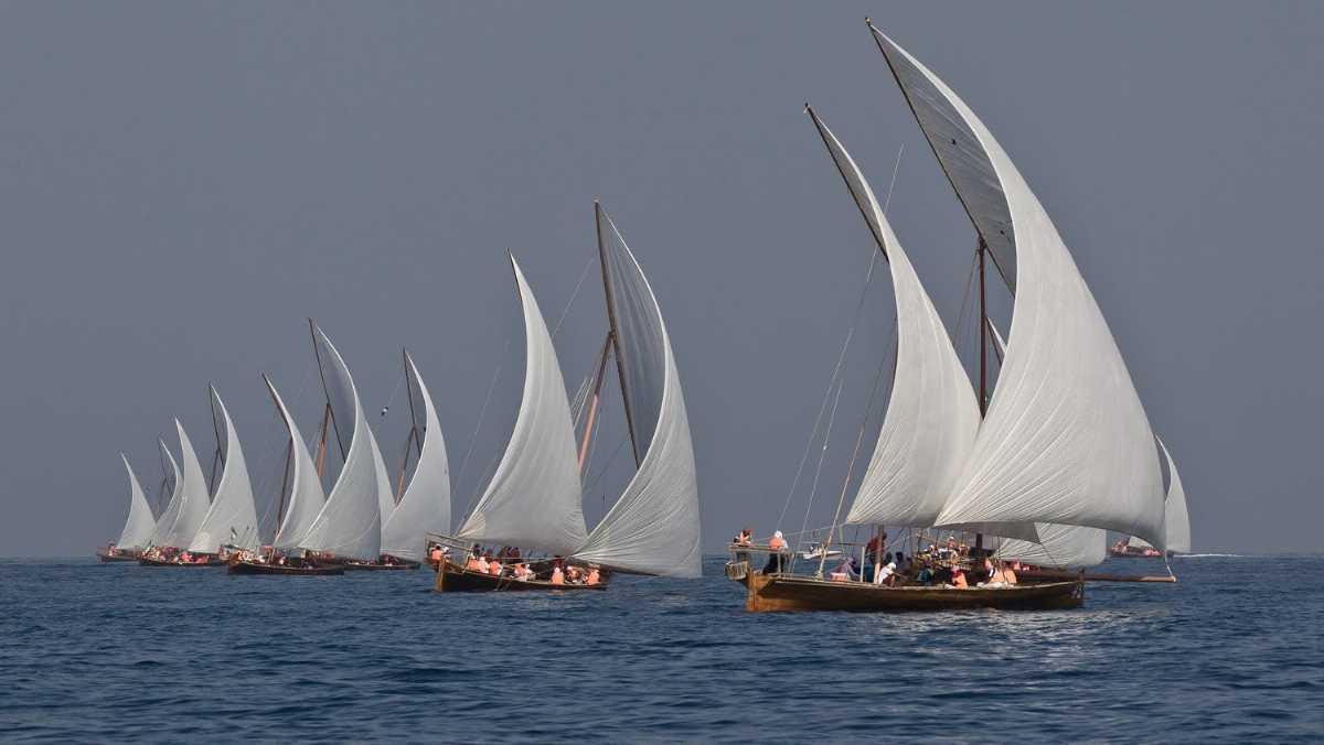 Dhow-Race 10 Festivales más populares de Dubái
