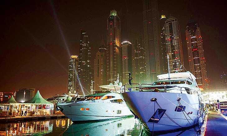 Dubai-International-Boat-Show 10 Festivales más populares de Dubái