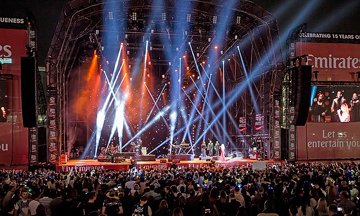 Dubai-International-Jazz-Festival 10 Festivales más populares de Dubái