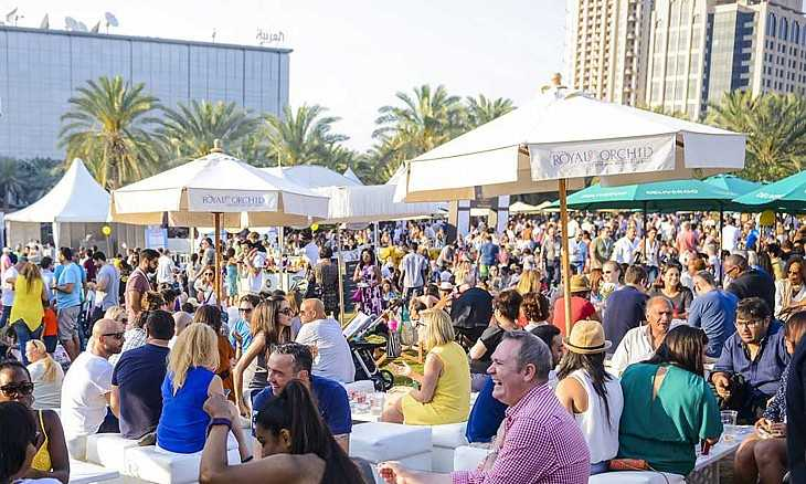 Taste-Of-Dubai 10 Festivales más populares de Dubái