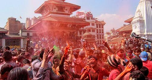 Holi-Celebration-in-Nepal Celebración de Holi en Nepal- El Festival más Colorido