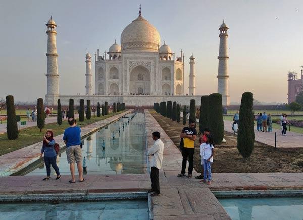Taj Mahal viaje en Triangulo de oro India