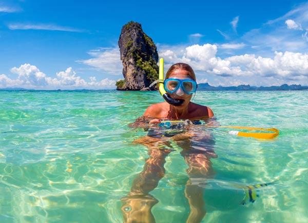 Viajar a la playa de bangkok